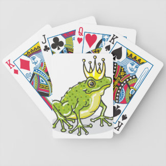 Frog Prince Princess Sketch Poker Deck
