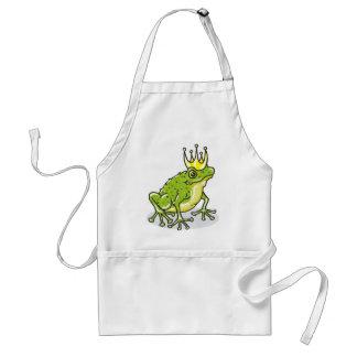 Frog Prince Princess Sketch Standard Apron