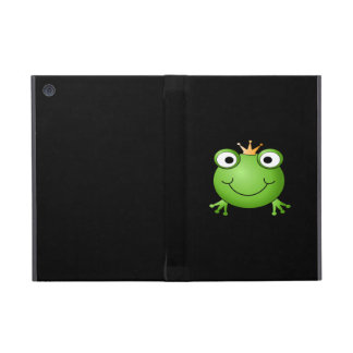 Frog Prince. Smiling Frog with a Crown. Case For iPad Mini