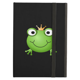 Frog Prince. Smiling Frog with a Crown. Case For iPad Air