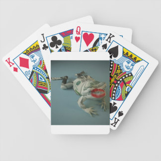 Frog Princes Bicycle Playing Cards