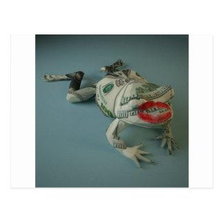 Frog Princes Postcard