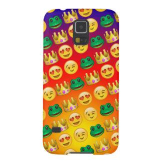 Frog & Princess Emojis Pattern Galaxy S5 Cases
