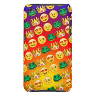 Frog & Princess Emojis Pattern iPod Case-Mate Cases