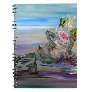 Frog Princess Notebook
