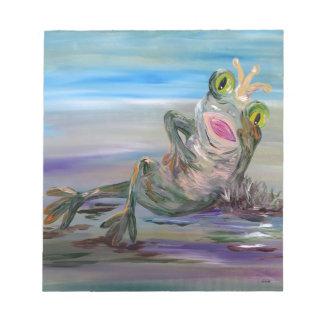 Frog Princess Notepad