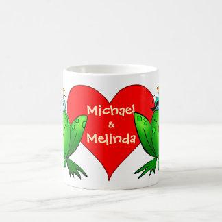 Frog Princess Prince Love Names Coffee Mug