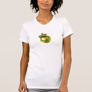 Frog protects the world ! tee shirts