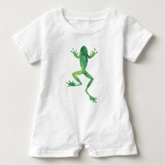 Frog Romper Baby Bodysuit