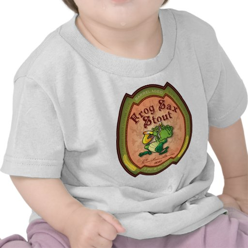 Frog Sax Stout Label Tshirt