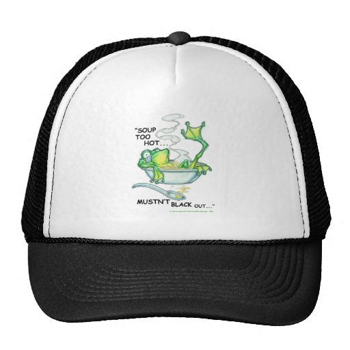 Frog Soup Hat