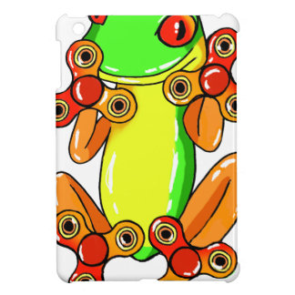 Frog spinner iPad mini case