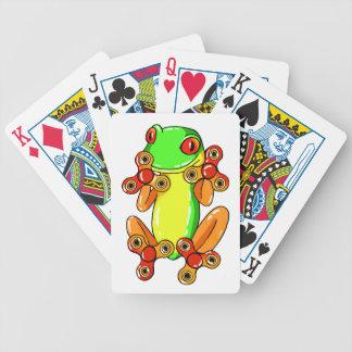 Frog spinner poker deck