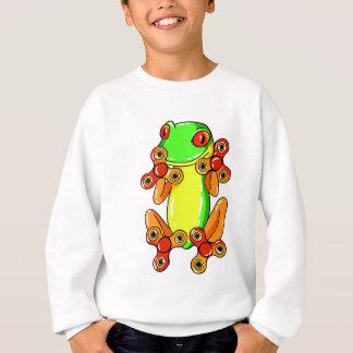 Frog spinner sweatshirt