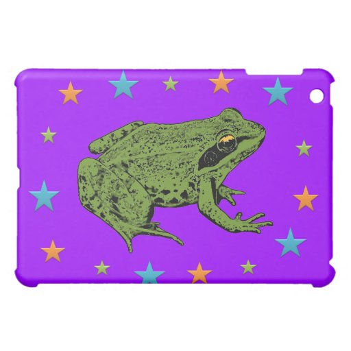 Frog & Stars Cover For The iPad Mini