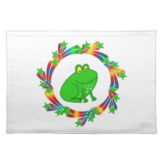 Frog Stars Placemat