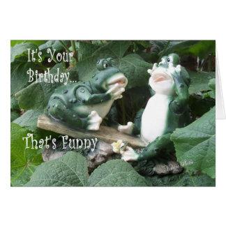 Frog TitterTatter-customize Card