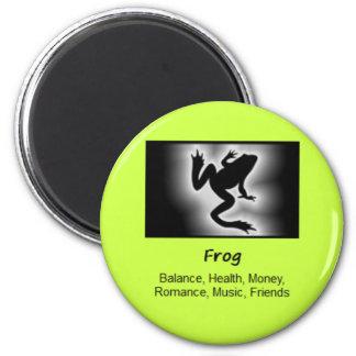 Frog Totem Animal Spirit Meaning 6 Cm Round Magnet
