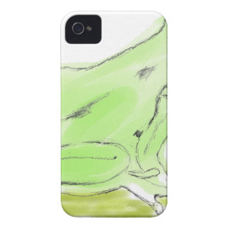 Frog water color iPhone 4 Case-Mate case
