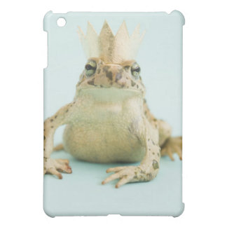 Frog wearing crown iPad mini covers