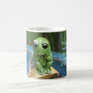 Frog With A Message Mug