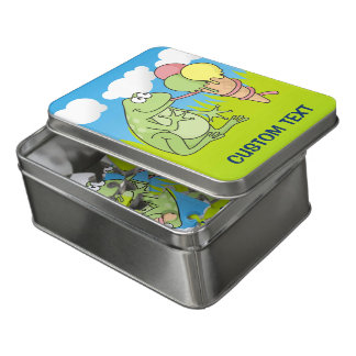 Frog with Icecream Jigsaw Puzzle