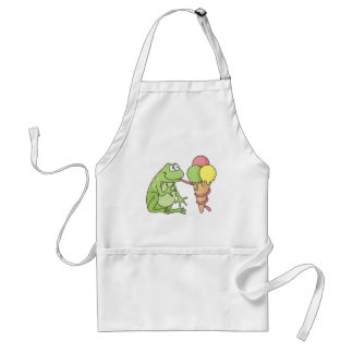 Frog with Icecream Standard Apron