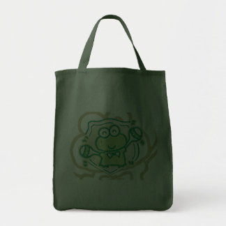 Frog with Maracas Tshirts and Gifts Tote Bag