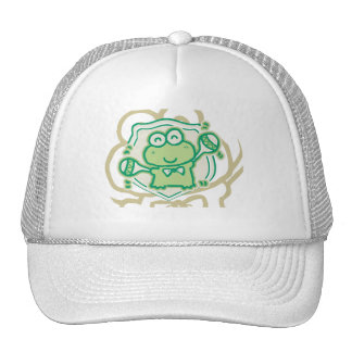 Frog with Maracas Tshirts and Gifts Mesh Hats