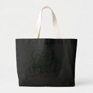 Frog with Maracas Tshirts and Gifts Jumbo Tote Bag