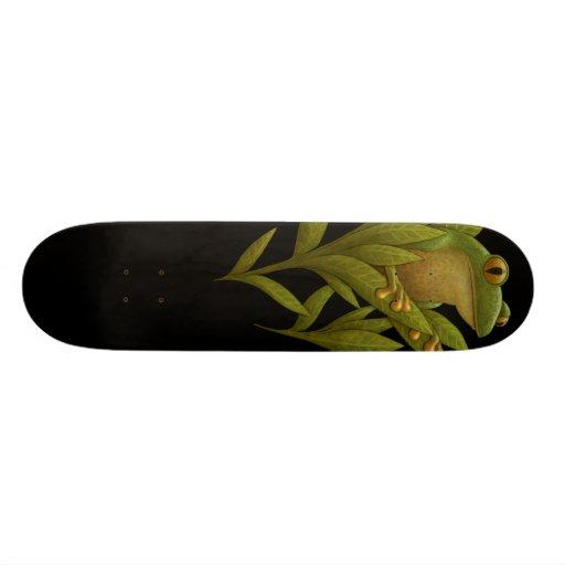 Frogbloom Skateboard Deck