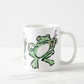Frogger Basic White Mug