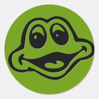 Froggie Classic Round Sticker