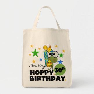 Froggie Hoppy 30th Birthday Tote Bag