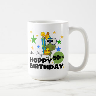 Froggie Hoppy 50th Birthday Coffee Mug