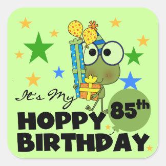 Froggie Hoppy 85th Birthday Stickers