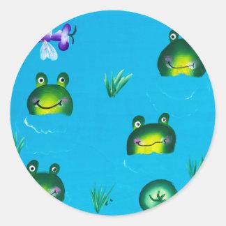 FROGGIE POND Sticker