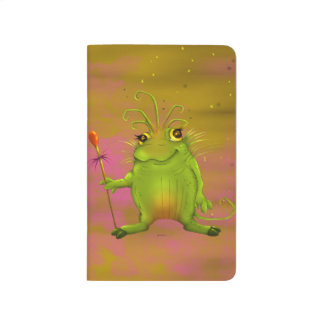 FROGGOG CUTE ALIEN CARTOON  Pocket Journal