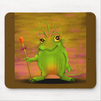 FROGGOG CUTE ALIEN MONSTER CARTOON MOUSE PAD
