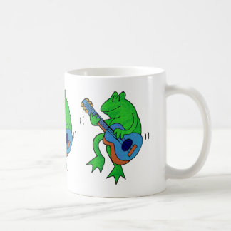 Froggy and Guitar Coffee Mug