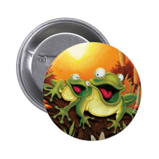 Froggy Friends Button