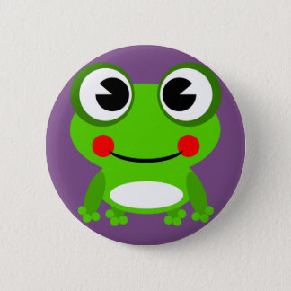 froggy frog fro button