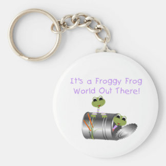 Froggy Frog World Keychain