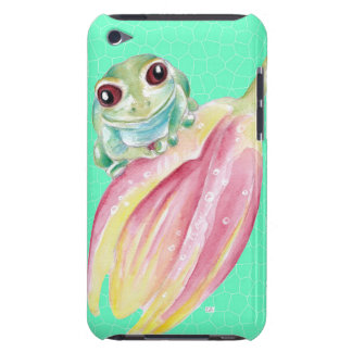 Froggy green Case-Mate iPod touch case