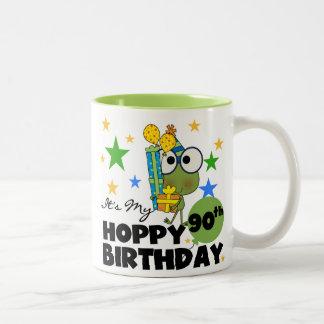 Froggy Hoppy 90th Birthday Mugs