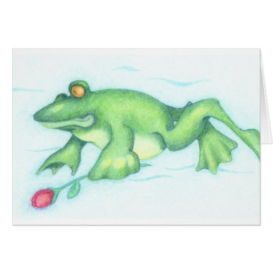Froggy Love Card