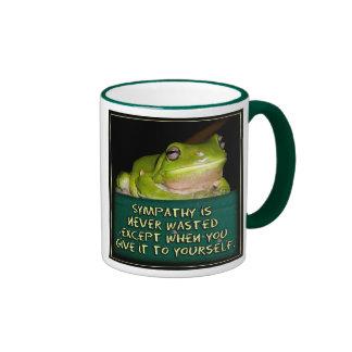 Froggy Sympathy is Never Wasted Coffee Mug