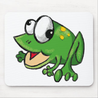 Froggy Toon Mousemat