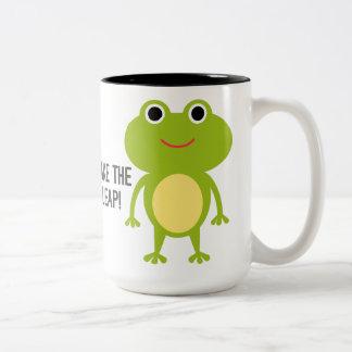 Froggy Two-Tone Mug