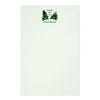 Froggy Wedding - Stationary Customized Stationery